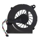 Вентилятор (охлаждение, кулер) для ноутбука HP Pavilion G4-1000, G4-1100, G4-1200, G6-1000, G6-1100, G6-1200, G6-1300, G7-1000, G7-1100, G7-1200, G7-1300, Compaq Presario CQ42, CQ56, CQ62, CQ72 (4 контакта) *