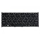 Клавиатура для ноутбука Acer Aspire S3, S3-391, S3-951, S5-391, V3-571G, V5-121, V5-122, V5-122P, V5-123, V5-131, V5-171, One 725, 756, B113, TravelMate B1, Acer W11, Packard Bell EasyNote LS11 Чёрная, без рамки