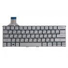 Клавиатура для ноутбука Acer S7-191, S7-391, Серебряная, без рамки