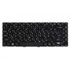 Клавиатура для ноутбука Acer Aspire V5, V5-431, V5-431G, V5-471, V5-471G, V5-471PG, M3-481, M3-481G, M3-481T, M3-481TG, M5-481, M5-481G Чёрная, без рамки