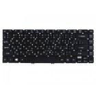 Клавиатура для ноутбука Acer Aspire V7-481PG, V7-482P, V7-482PG, Travelmate P645-M, P645-MG, P645-V, P645-VG, Чёрная, с подсветкой, гравировкой