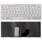 Клавиатура для ноутбука Acer Aspire One 521, 522, 532, 532H, 532G, 533, D255, D255E, D257, D260, D270, ZE6, ZH9, Happy, Happy2, E100, eMachines 350, 355, Gateway LT27, LT28, Packard Bell Dot S2, SC, SE, SE3, NAV50, PAV80 Белая *