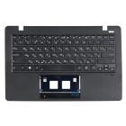 Верхняя панель для ноутбука Asus X200CA с клавиатурой 0KNB0-1130RU 0KNB0-1123RU 90NB02X2-R30190 Black panel, Black buttons