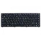 Клавиатура для ноутбука Asus Eee PC 1215, 1225, Черная, без рамки