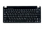 Клавиатура для ноутбука Asus Eee PC 1015PX, Черная, черная панель