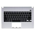 Верхняя панель для ноутбука Asus X301 с клавиатурой 0KNB0-3103RU00 0KNB0-3104RU00 MP-11N53SU-920 90R-NLO2K1580U White panel, black buttons