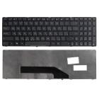 Клавиатура для ноутбука Asus K50, K60, K61, K70, F52, X5DIJ, Чёрная, с рамкой