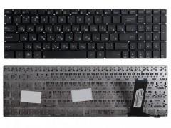 Клавиатура для ноутбука Asus N56, N56D, N56DP, N56DY, N56JR, N56V, N56VB, N56VJ, N56VM, N56VZ, N76, N76V, N76VB, N76VJ, N76VM, N76VZ, N76V8, N550JA Чёрная, без рамки