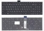 Клавиатура для ноутбука Asus X502, X502C, X502CA, X502CB, X552, X552C, X552CL, X552VL, X552E, X552EA, X552EP Чёрная, без рамки