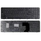 Клавиатура для ноутбука HP Pavilion G7-1000, G7-1000er, G7-1000sr, G7-1100, G7-1200, G7-1200er, G7-1300 Чёрная, с рамкой