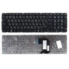 Клавиатура для ноутбука HP Pavilion G7-2000, G7-2000er, G7-2100, G7-2200, G7-2200sr, G7-2300, G7-2300er Чёрная, без рамки, узкая клавиша Enter