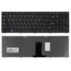 Клавиатура для ноутбука Lenovo B5400, M5400, Чёрная, чёрная рамка