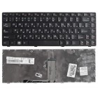 Клавиатура для ноутбука Lenovo B470, B470A, B470G, B475, G470, G470A, G470G, G475, G475A, G475E, G475G, G475L, V470, V470A, V470G, V470P, Z470, Z470A, Z470G Чёрная с рамкой *