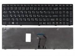 Клавиатура для ноутбука Lenovo IdeaPad Z560, Z565, G570, G575, G770, G550, G585, G780, V570, B590 Чёрная