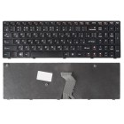 Клавиатура для ноутбука Lenovo Z570, B570, B575, B590, V570, V580, G575, Z575, G570 Черная, черная рамка *