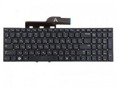 Клавиатура для ноутбука Samsung 300E5A, 300V5A, 355VSC, 300E5C, 300E7A, 355V5C Чёрная, без рамки