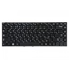 Клавиатура для ноутбука Samsung 300E4A, 300V4A Чёрная, без рамки