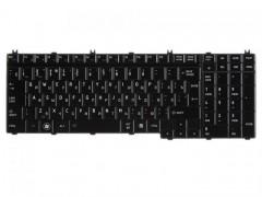 Клавиатура для ноутбука Toshiba Satellite A500, F501, P505, L350, L500, P300, X500 Чёрная, с подсветкой