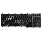 Клавиатура для ноутбука Toshiba Satellite A500, F501, P505, L350, L500, P300, X500, F60, F750 V101602AK1 Black, Glossy