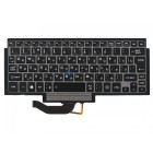 Клавиатура для ноутбука Toshiba Portege Z10t G83C000DR3 Black, Gray frame, PointStick