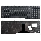 Клавиатура для ноутбука Toshiba Satellite A500, A505, F501, L350, L355, L500, L505, L510, L515, L550, L555, P200, P205, P300, P305, P500, P505, Pro L350, X200, X205, Qosmio F60, F750, G50, G55, X300, X500, X505, Portege M750 Чёрная *