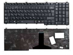Клавиатура для ноутбука Toshiba Satellite A500, A505, F501, L350, L355, L500, L505, L510, L515, L550, L555, P200, P205, P300, P305, P500, P505, Pro L350, X200, X205, Qosmio F60, F750, G50, G55, X300, X500, X505, Portege M750 Чёрная